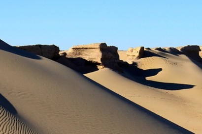 Badain Jaran, «l'Everest du désert»