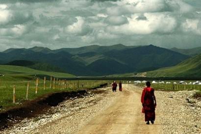 La voie des moines tibétains