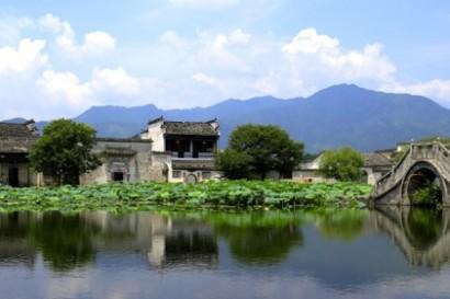 Huang shan, paysages d'estampe