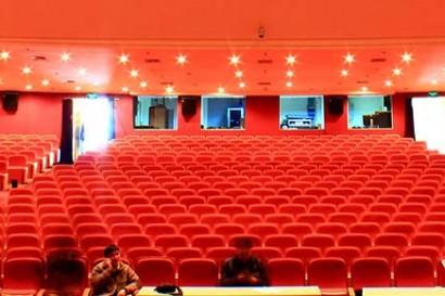 Wanping theater: derrière les rideaux